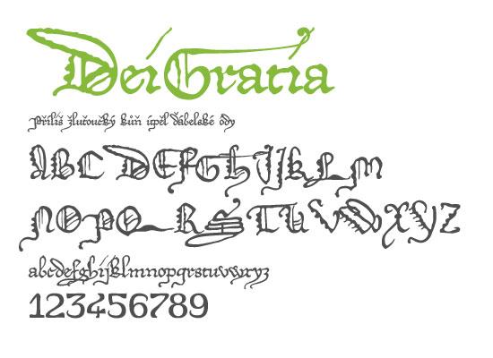 České fonty: Nejstahovanější fonty za měsíc červenec