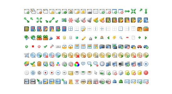 Pixelové a mini ikony zdarma ke stažení