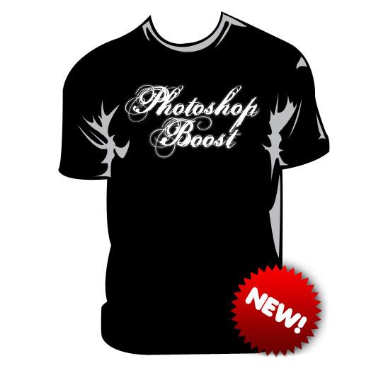 Podklady pro design vlastních originálních triček