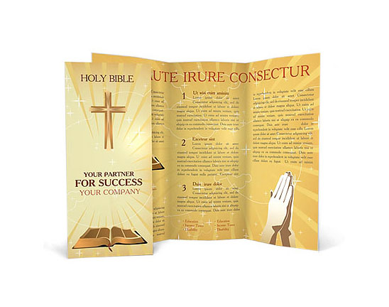 Šablona brožury zdarma ke stažení