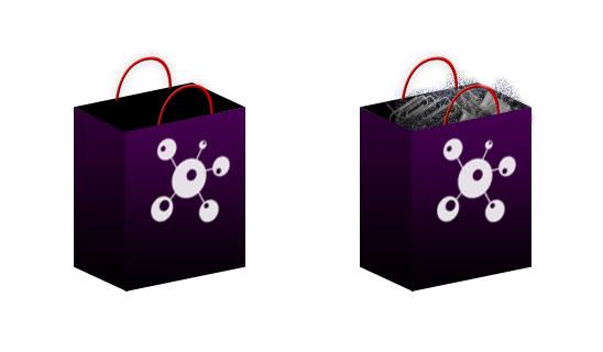 Ikony nákupního košíku