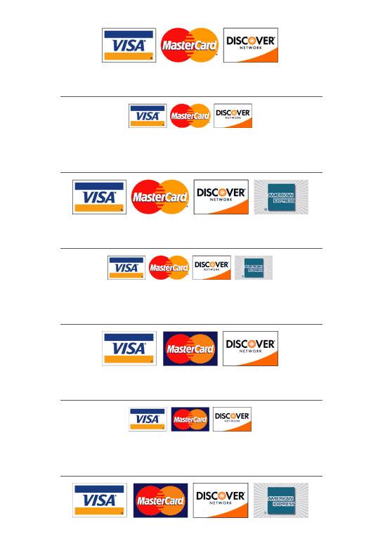 Ikony kreditních karet