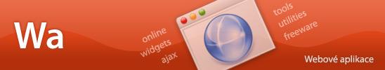 Webové aplikace, widgets, tools, freeware