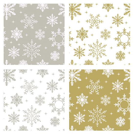 Sněhové vločky - textury ke stažení