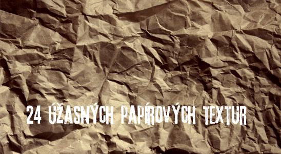 Papírová textura