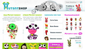 MutantShop - ltkov panenky (e-shop)