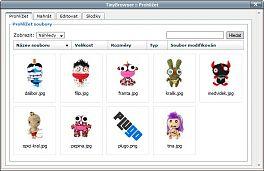 TinyBrowser - přehled obrázků