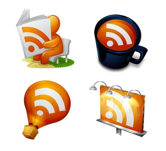 RSS ikony