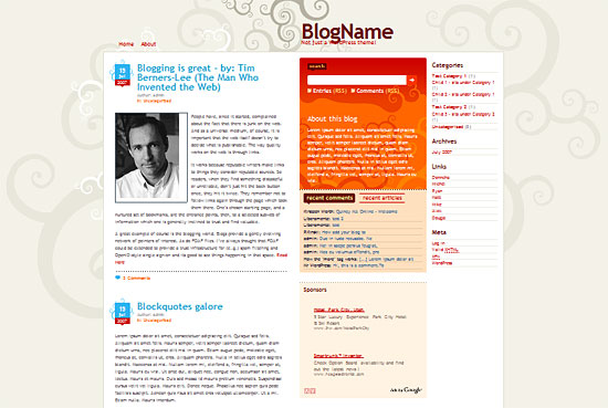 Dilectio - Smashing WordPress Theme zdarma ke stažení