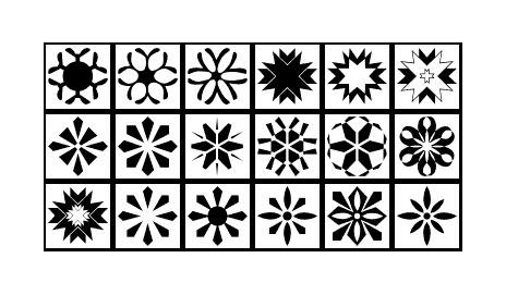 Různé tvary (Miscellaneous Shapes 1)