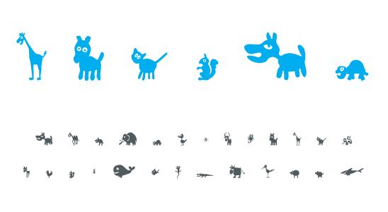 Obrázkové fonty ke stažení zdarma