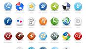 Sociální ikony linkovacích služeb