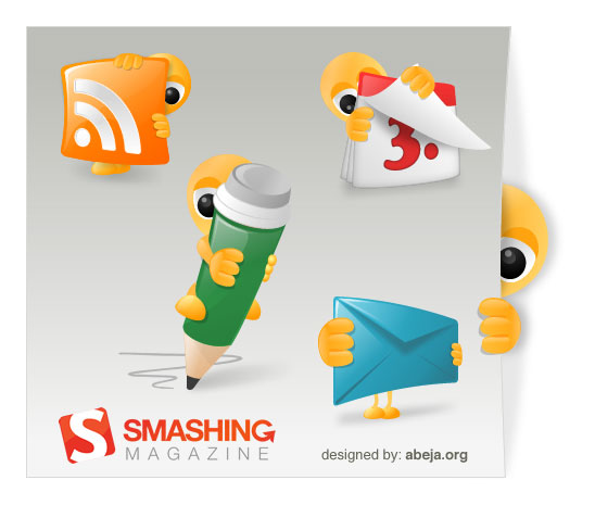 Smashy The Alien Icon Set